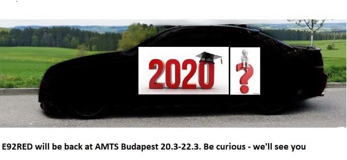 2020 ab der AMTS im März geht es weiter hier