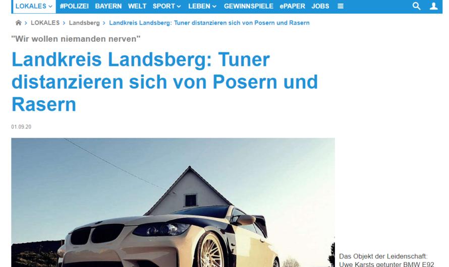 Landkreis Landsberg: Tuner distanzieren sich von Posern und Rasern
